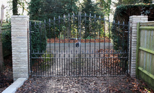 Wrought Iron Gates from Fencing & Landscape Services
